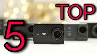 Video TOP 5 Best Budget Action Cameras in 2018 download MP3, 3GP, MP4, WEBM, AVI, FLV Juli 2018