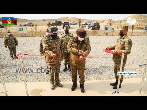 Министр обороны Азербайджана принял участие в церемонии открытия новых воинских частей