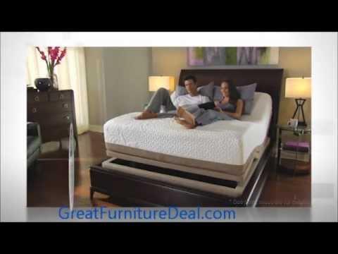 Serta Motion Perfect Adjustable Base Youtube