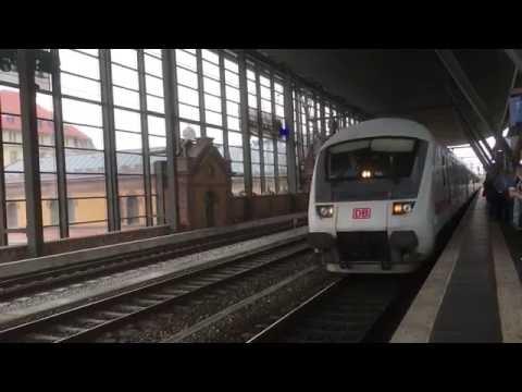 Erfurt Hauptbahnhof, Thüringia, Germany - 4th June, 2016
