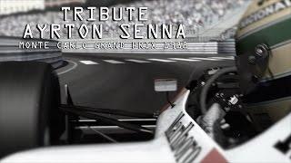 Tribute to Ayrton Senna - Monte Carlo Grand Prix (Monaco) 1988