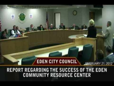 Feb 21, 2012 - Eden City Council Meeting