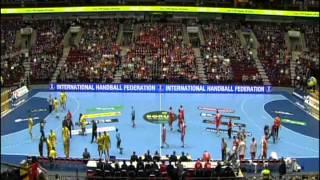 Romania - Croatia Handball Sweeden 2011 FLOREA 23