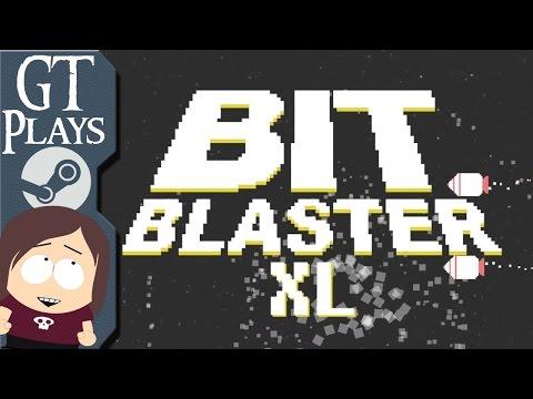 Bit Blaster XL || Asteroids Style Arcade Shooter
