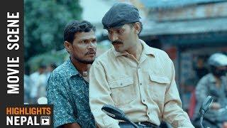 आफ्नै साथीमाथि शंका | New Nepali Movie JATRA | Movie Clip | Bipin Karki | Rabindra Jha