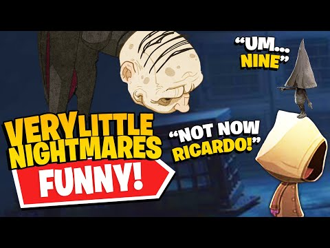 The Butler Wants Nine's Coat!   Rico's *NEW* Very Little Nightmares (Funny Compilation #36)  
