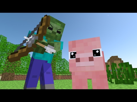Top 5 Minecraft Life (Minecraft Animation) - Видео из Майнкрафт (Minecraft)