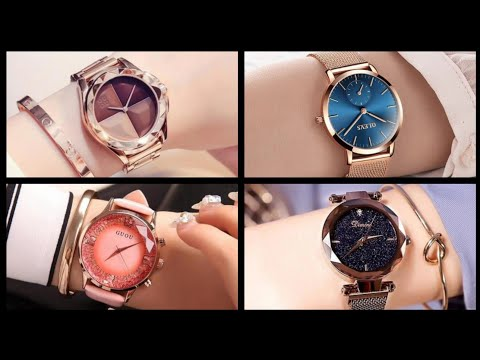 Wrist Watches For Ladies-Elegant Design Luxury Crystal Ladies Wrist Watches
