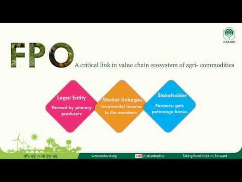 Farmer Producer Organizations (FPO)