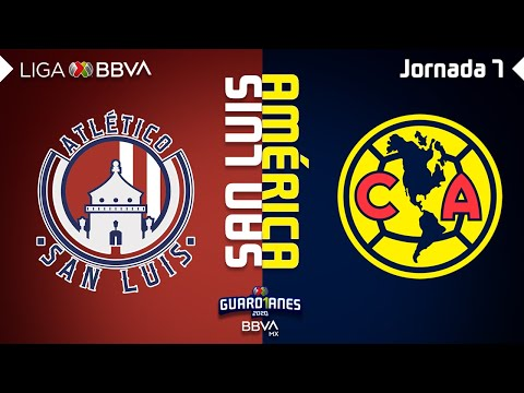 Resumen y Goles | San Luis vs América | Liga BBVA MX - Guard1anes 20202 - Jornada 7