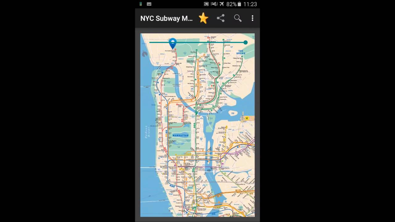 New York Subway Map Mobile.New York Subway Map Nyc