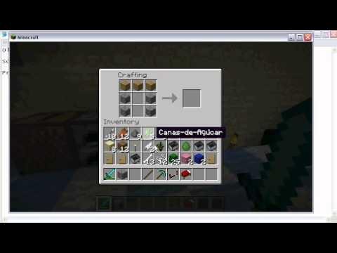 TUTO Minecraft Como criar Alavanca e Piston YouTube