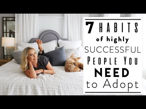 7 Home Habits to Become Successful + Organized