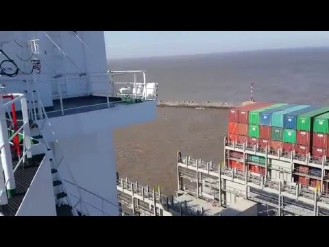 "Container Ship ""VALUE"" #IngresoAMontevideo Parte 1"