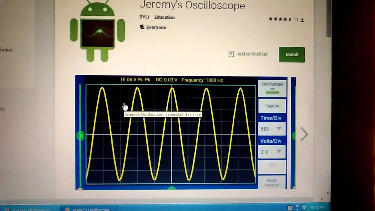 Cell Phone Oscilloscope Probe Diy Youtube Download Free Voltage Divider Circuit Diagram