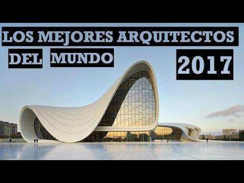Los Mejores Arquitectos Del Mundo 2020 Youtube
