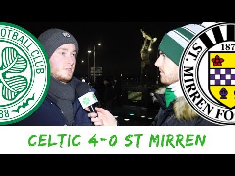 Celtic 4-0 St Mirren | Full-time Reaction