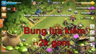 NMT | Clash of clans | Bung lua giải đấu Quán quân kiếm 2000 gem