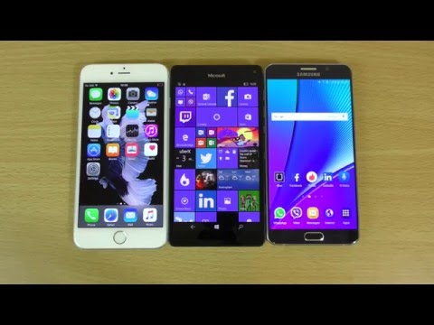 Lumia 950 XL Cortana VS Siri VS S Voice -  Which is Better?