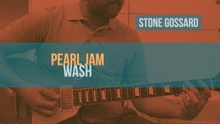 "PEARL JAM - ""Wash"" Guitar Lesson 