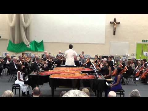 Isata, Konya and Jeneba Kanneh-Mason play Mozart Triple Piano Concerto K242