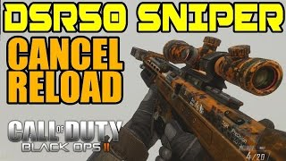*NEW* HOW TO MAKE YOUR SNIPER SHOOT FASTER IN BO2 (Bo2 Reload Cancel)
