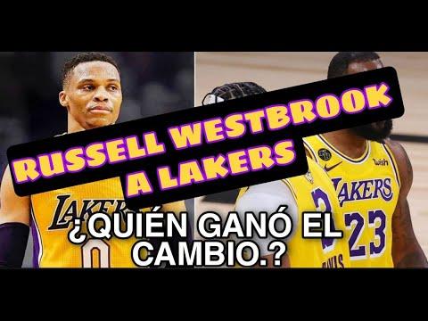Lakers adquieren a Russell Westbrook en cambio con los Lakers