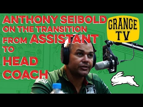 ANTHONY SEIBOLD on the transition from assistant to HEAD COACH