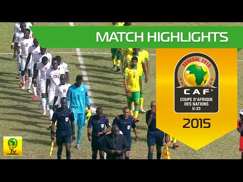 Senegal vs South Africa | U-23 Africa Cup Of Nations, SENEGAL 2015