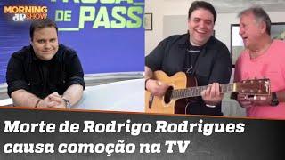 As homenagens ao apresentador Rodrigo Rodrigues
