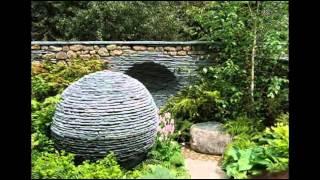 видео Камни в дизайне сада: оформление дачного участка валунами и камнями, фото-идеи