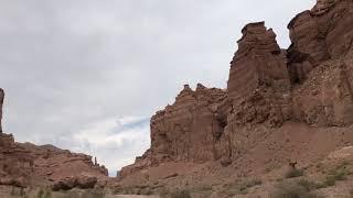 Day out in Charyn canyon Arizona of Kazakhstan July 2018