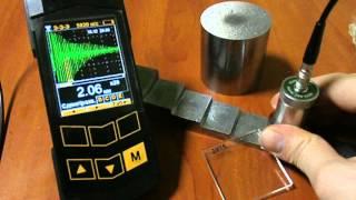 Ультразвуковой толщиномер «Булат 3»(Измерение толщины металла под покрытием. Часть 1., 2016-03-01T10:08:44.000Z)
