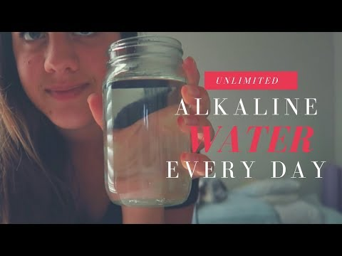 HOW TO GET UNLIMITED ALKALINE WATER + why I don't drink bottled water