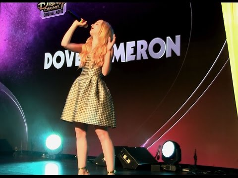 """Dove Cameron """"If Only"""" from """"Descendants"""" live at D23 Expo- FRONT ROW"""