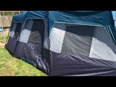 Ozark Trails Instant Cabin Tent 20 x 10 inch & Ozark Trails Instant Cabin Tent 20 x 10 inch - YouTube