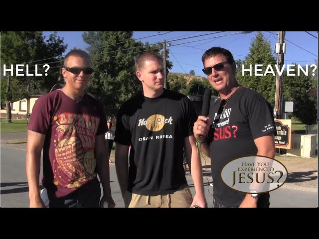 Interviewing Mormons And Christians About Heaven And Hell!