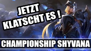Championship Shyvana Jungle S5 Gameplay German - Jungle Hyperaktive Guide JETZT KLATSCHT ES !