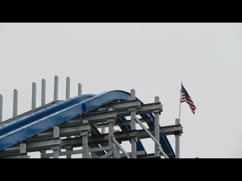 Twisted Cyclone TESTING FOOTAGE - Six Flags Over Georgia Early May 2018