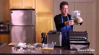 Sousvide Supreme Recipe: Gourmet Halibut