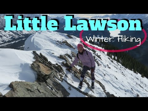LITTLE LAWSON Winter Hike 2018, Kananaskis video (HD). Explore Alberta Canada