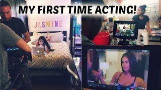 my la trip my 1st time acting