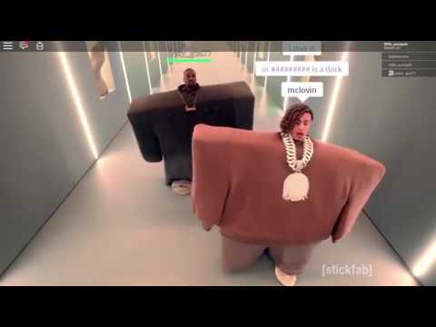 Your Such A Roblox Nerd Lyrics - Lil Pump And Kanye On Roblox