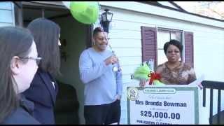 PCH December 17th $25,000 Winner: Brenda Bowman