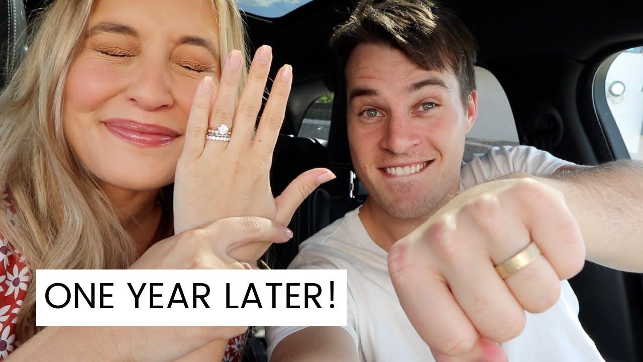 WE GOT OUR NEW WEDDING RINGS BACK!!