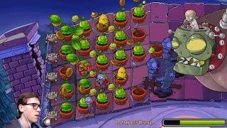 Dr. Zombosss Revenge Финальный Зомбосс - Прохождение Plants vs Zombies на iPad, 18 часть