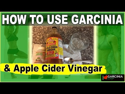 How To Use Garcinia Cambogia And Organic Ggs Apple Cider Vinegar Drink Recipe For Weight