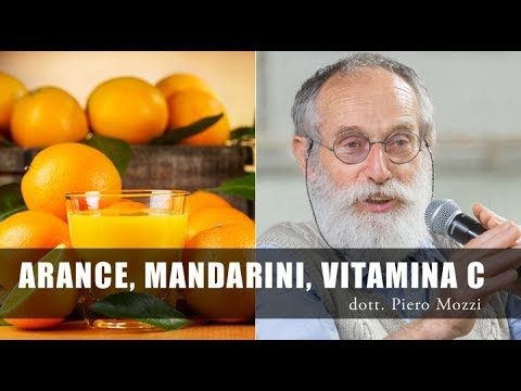 Dott Mozzi: vitamina C, Arance, Mandarini e Rosa canina