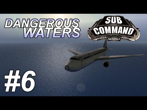 Sub Command 688(I) in Dangerous Waters+RA1.41 (6) Missile Test