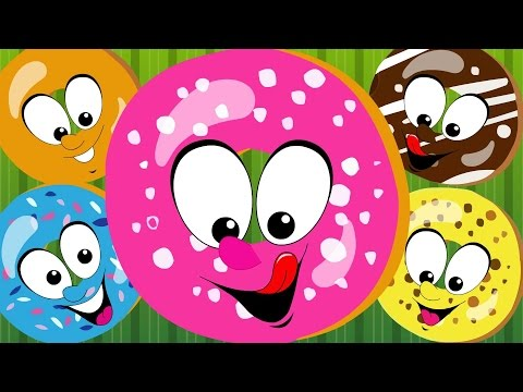 Five Little Doughnuts Five Little Donuts Doughnuts Kids Tv Nursery Rhymes S01EP291